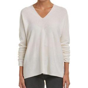 Vince Vince Double V-Neck Cashmere Sweater size S